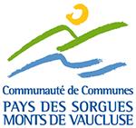 Logo Pays des Sorgues Monts de Vaucluse