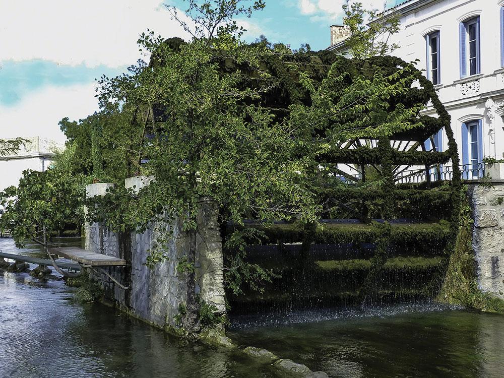 Roue à eau Isle sur la Sorgue
